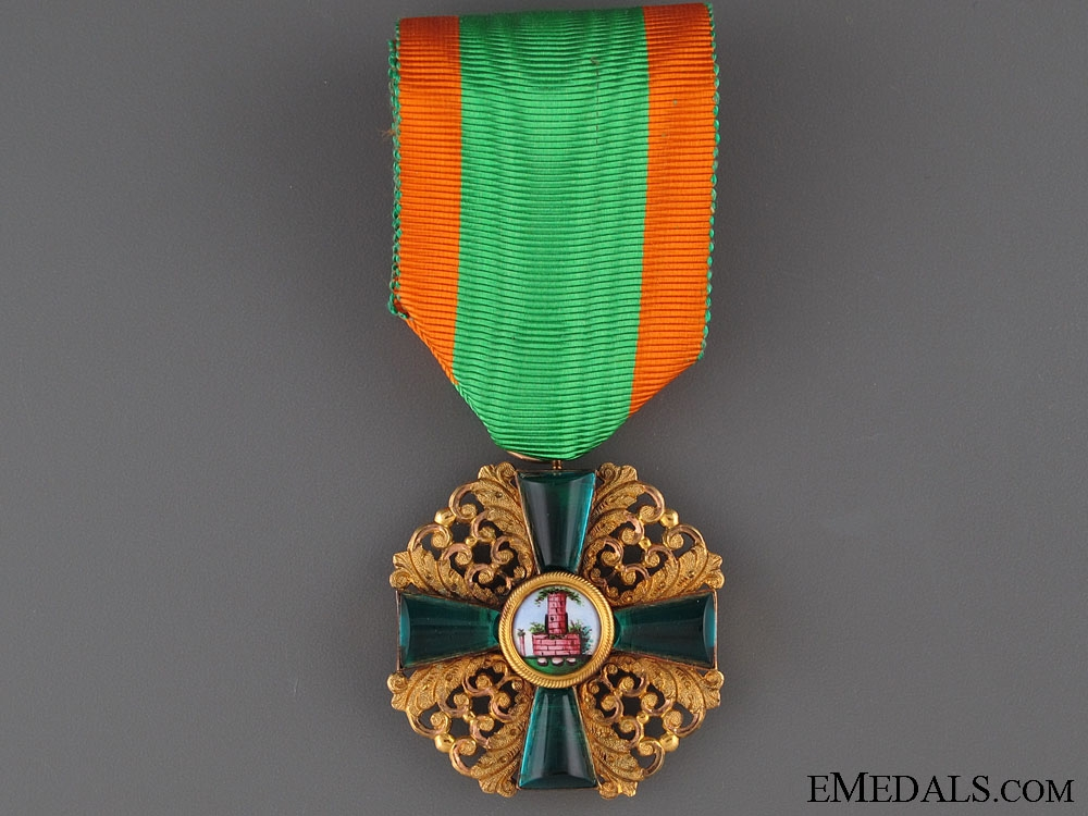 eMedals-Order of Zähringen Lion in Gold