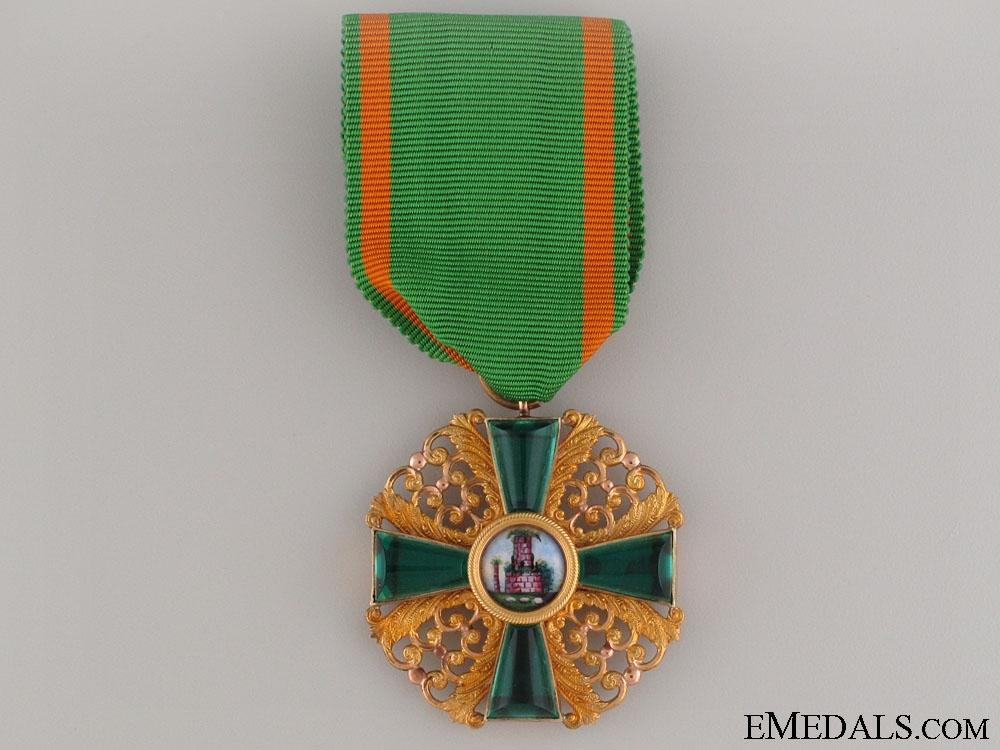 eMedals-Order of Zähringen Lion in Gold