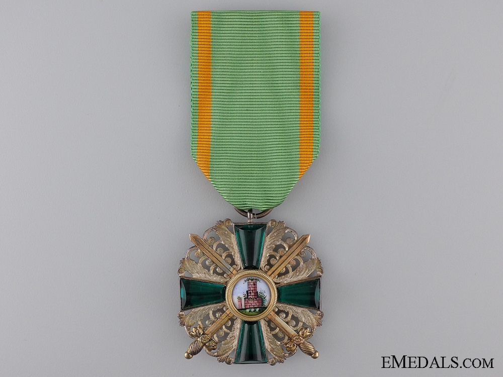 eMedals-Order of Zahringer Lion with Swords; Knight's Cross Second Class