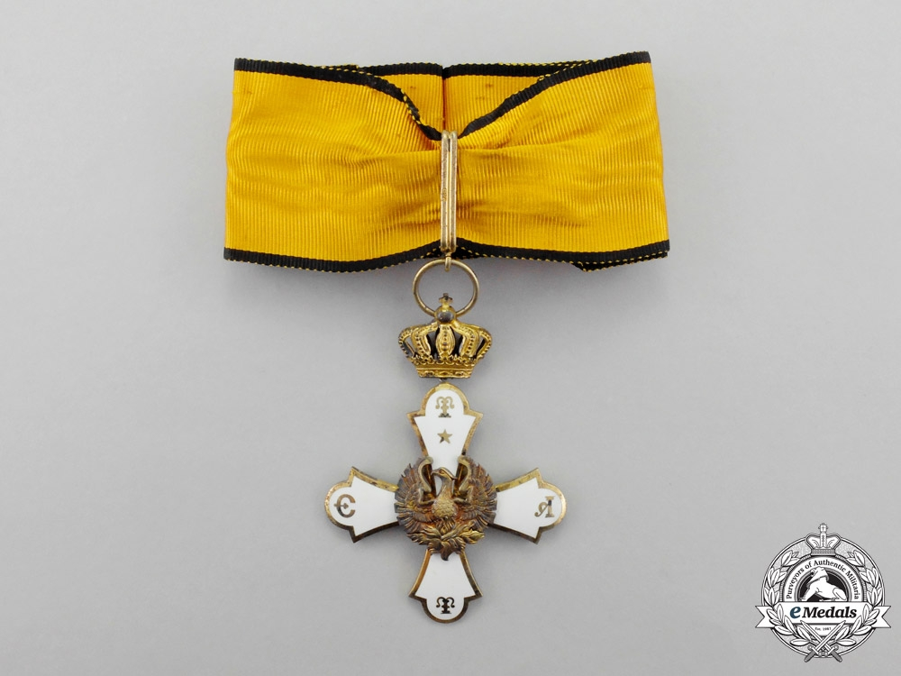 eMedals-Greece. An Order of the Phoenix, Commander, Type I (1926-1935)