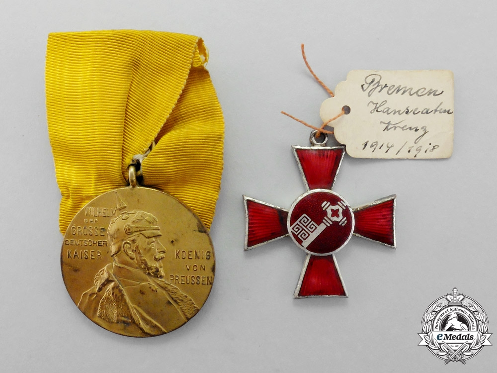 eMedals-Prussia. A Pair of First War Awards