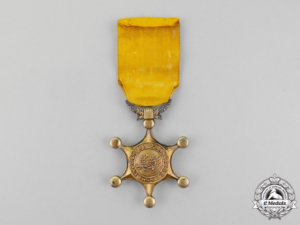 eMedals-  FRENCH INDOCHINA. An Indochinese Order of Merit, I class (INDOCHINE FRANÇAISE.
