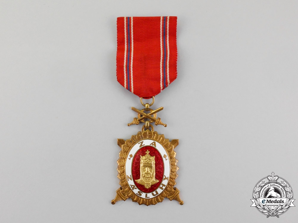 eMedals-Czechoslovakia. An Order of Charles IV, 3rd Class, Type II (1945-1948)