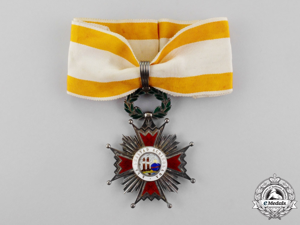 eMedals-Spain, Kingdom. An Order of Isabella the Catholic, Commander, c.1960
