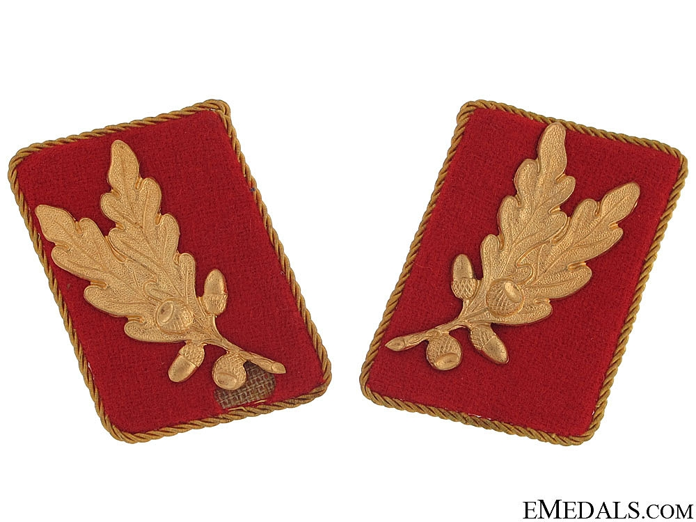 eMedals-Pair Collar Tabs for 'SA-Oberführer'