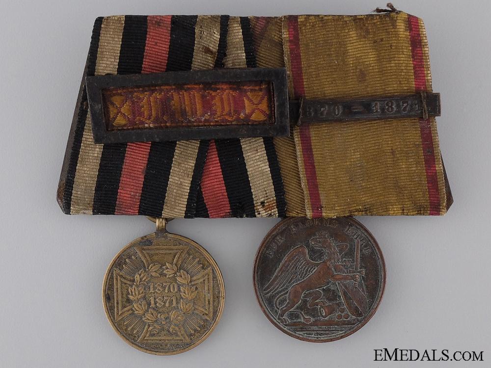 eMedals-A Pair of Franco Prissan War Medals