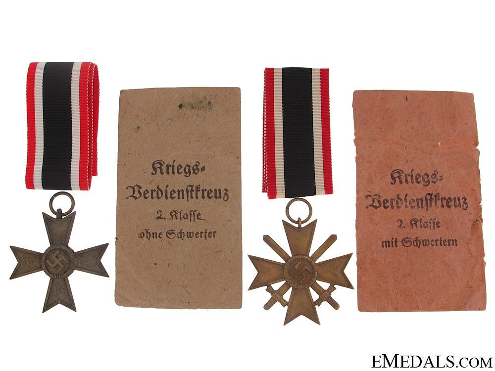 eMedals-Pair of War Merit Crosses