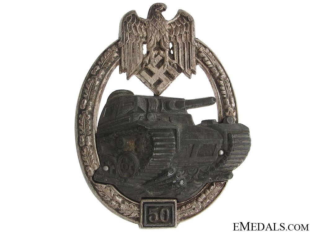 eMedals-Panzer Badge-Grade III (50) – Juncker