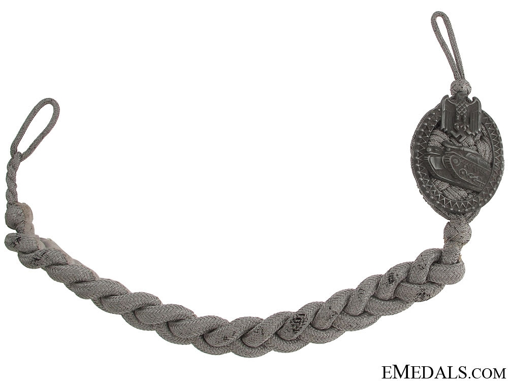 eMedals-Panzer Marksmen Lanyard - Grade I