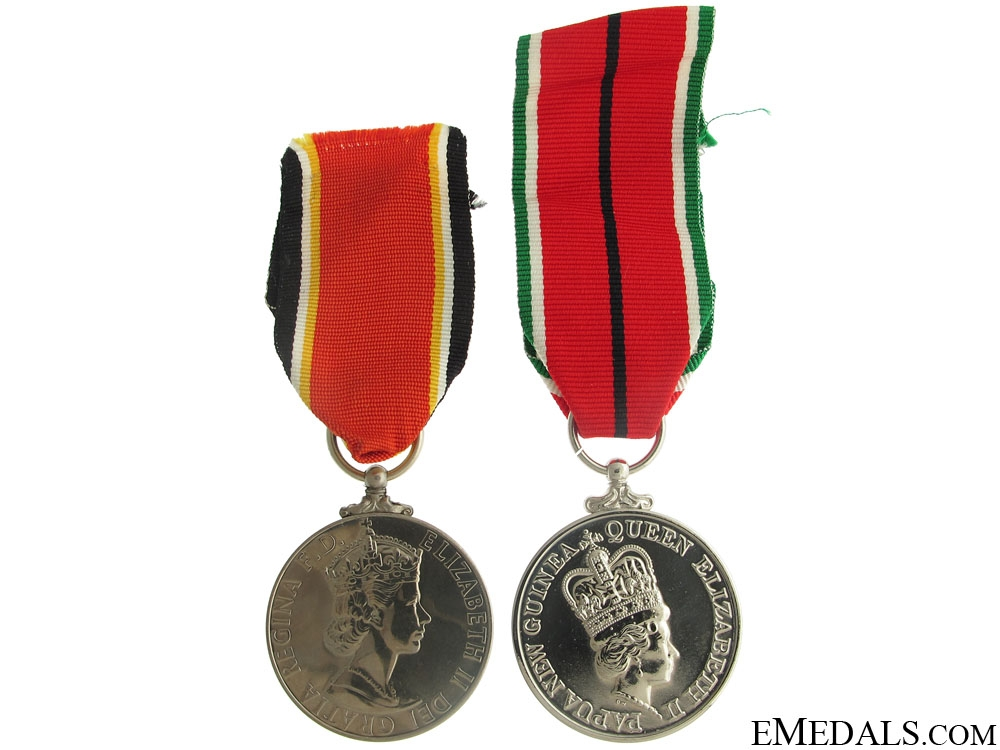 eMedals-Papua New Guinea Independence Medals
