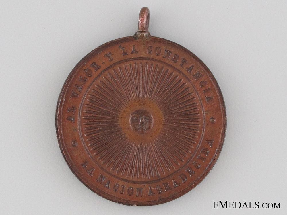 eMedals-Paraguayan War Medal 1864-1870