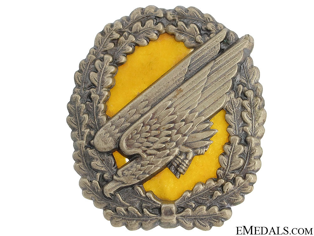 eMedals-Paratrooper's Cap Badge
