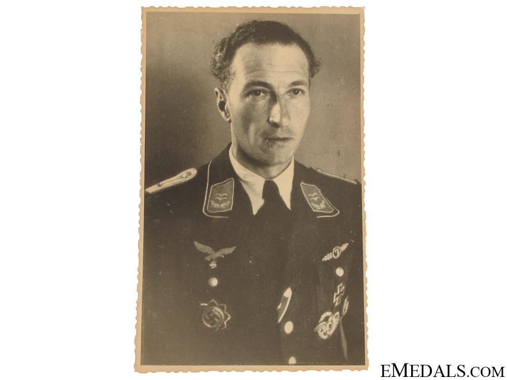 eMedals-Photograph of a Luftwaffe Knight's Cross Winner