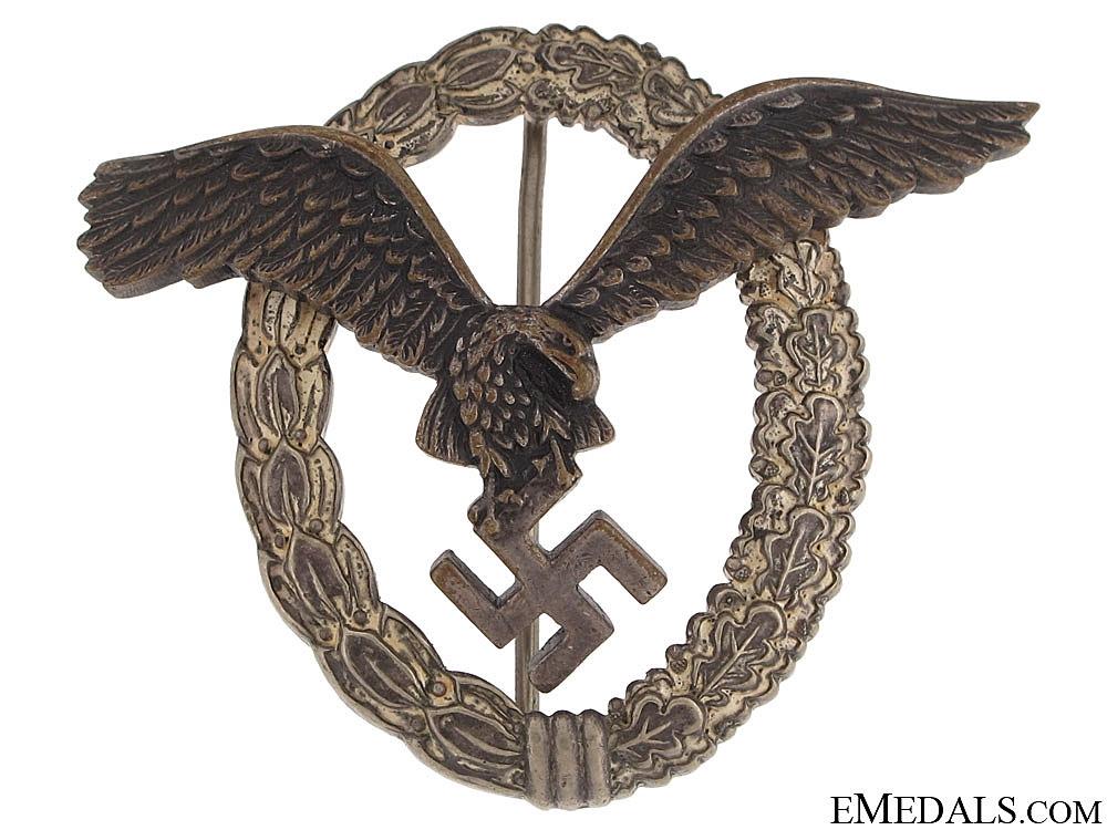 eMedals-Pilot's Badge - B & N L