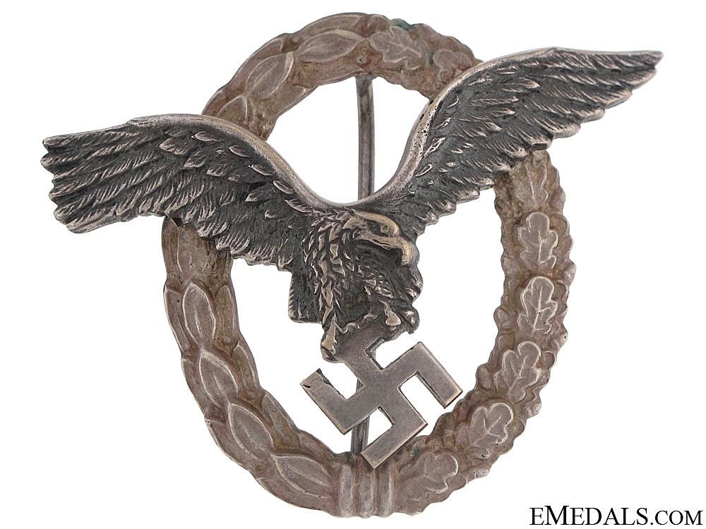eMedals-Pilot's Badge – BSW