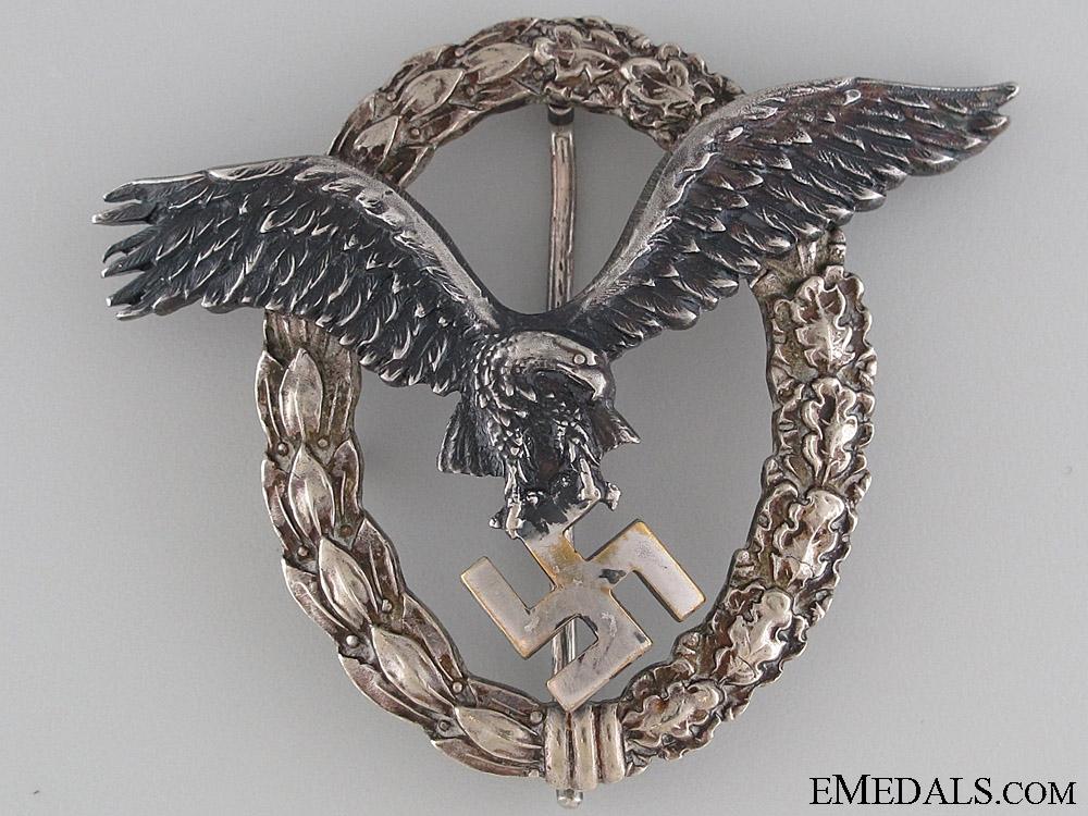 eMedals-Pilot's Badge – Early Juncker (J-1)