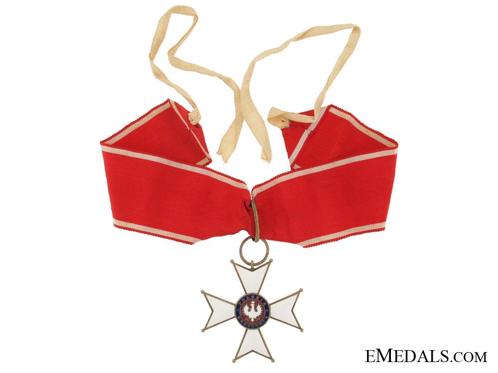 eMedals-Order of Polonia Restituta 1918