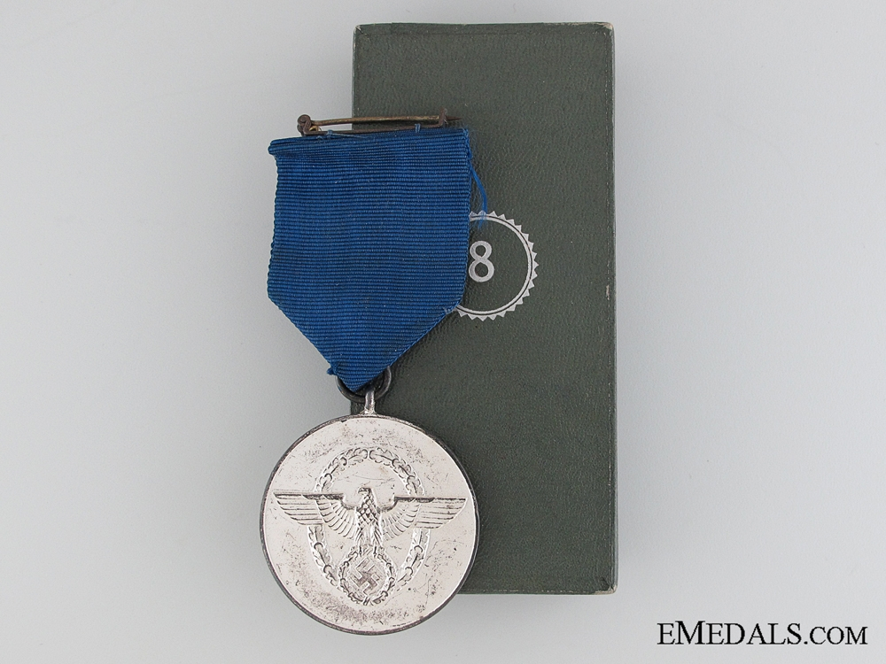 eMedals-Police 8 Years Long Service Medal