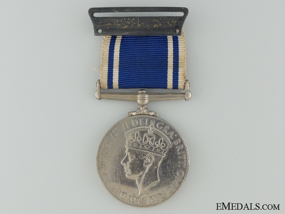 eMedals-Police long Service and Good Conduct Medal to Constable Newton