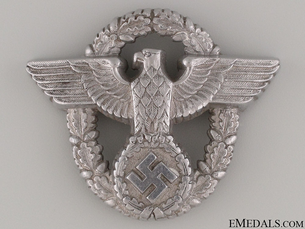 eMedals-Police Officer's Cap Badge