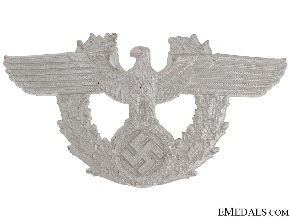eMedals-Police Shako Eagle