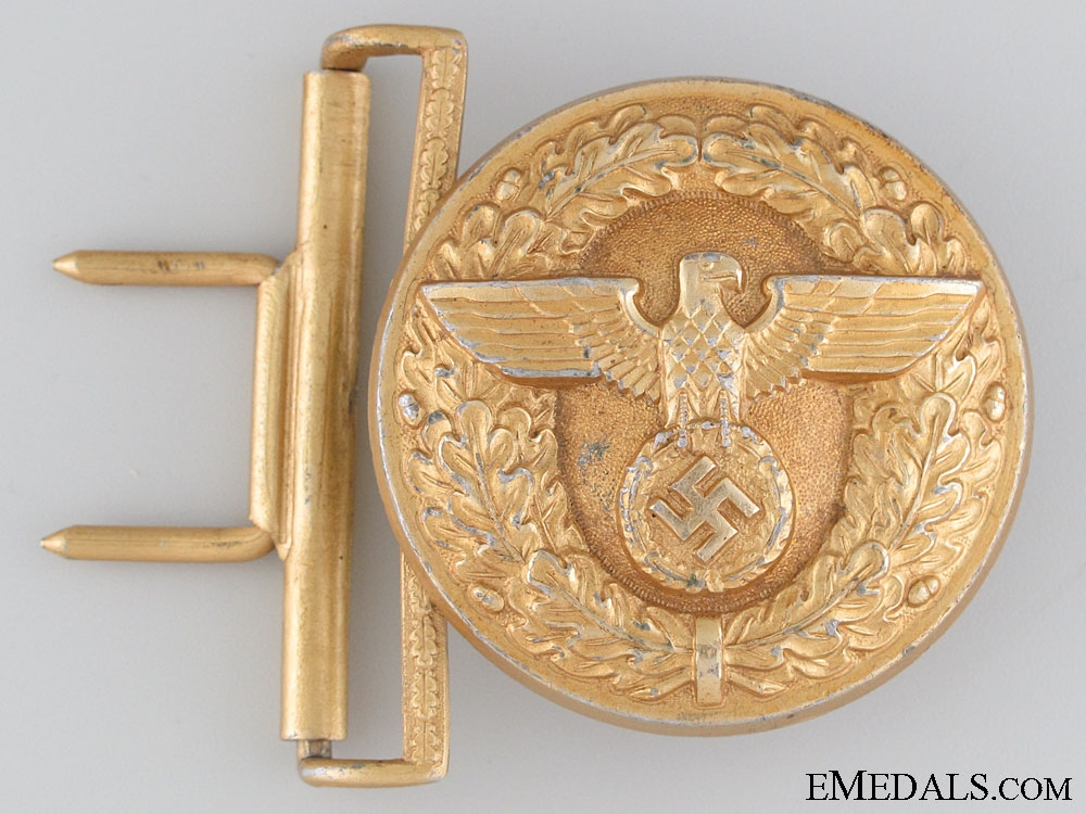 eMedals-Political Leader's Belt Buckle by Salcher & Sohne