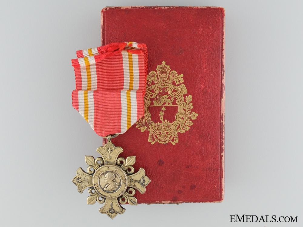eMedals-Pro Ecclesia et Pontifice Medal; 1st Class 1903-1914