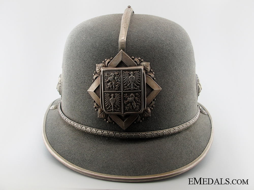 eMedals-Protectorate of Bohemia & Moravia Felt Police Helmet