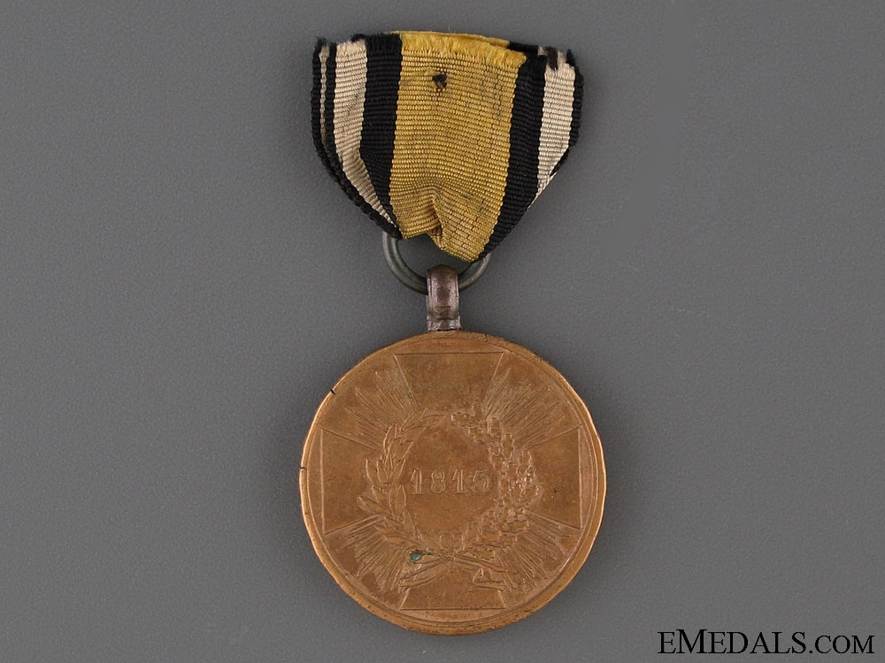 eMedals-Prussian 1815 Campaign Medal