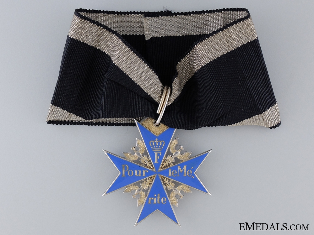 eMedals-A Prussian Order of Pour-le-Merite by Rothe c.1925-30