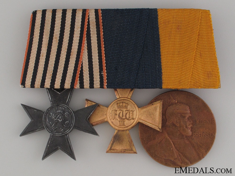 eMedals-Prussian Veteran's Group of Three