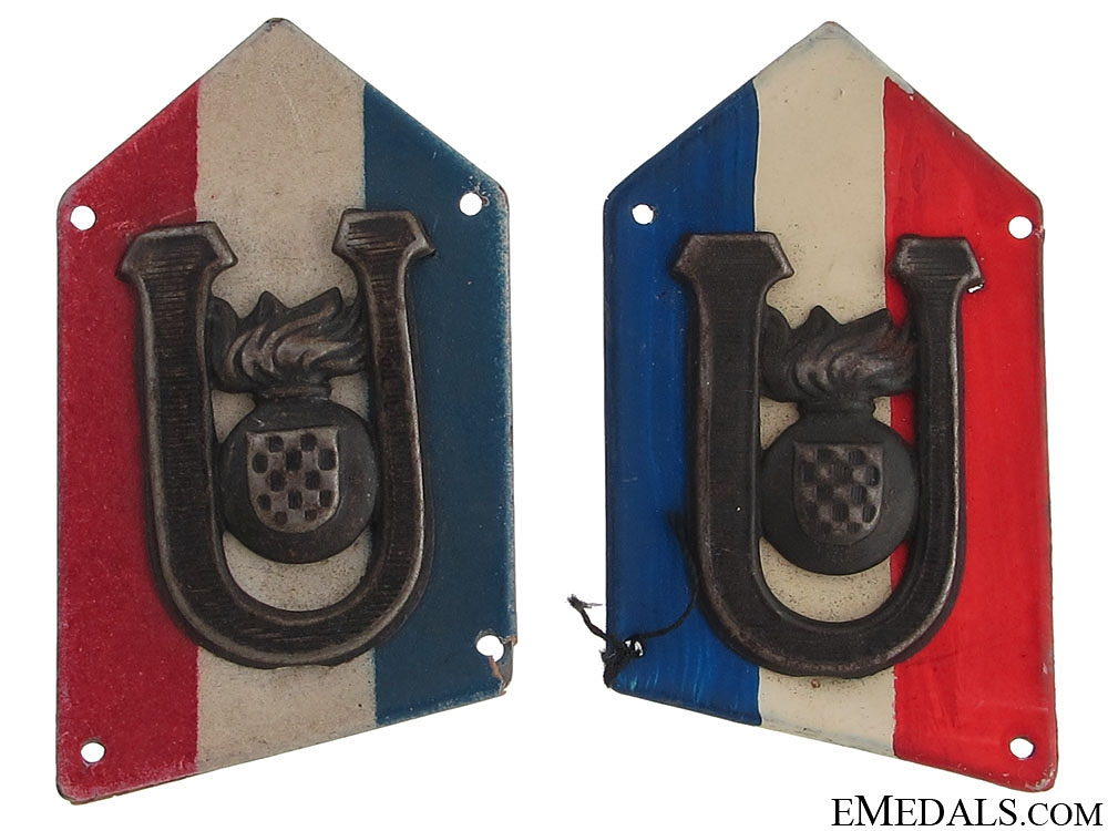 eMedals-PTS (Pavelic's Body Guard) Collar Tabs