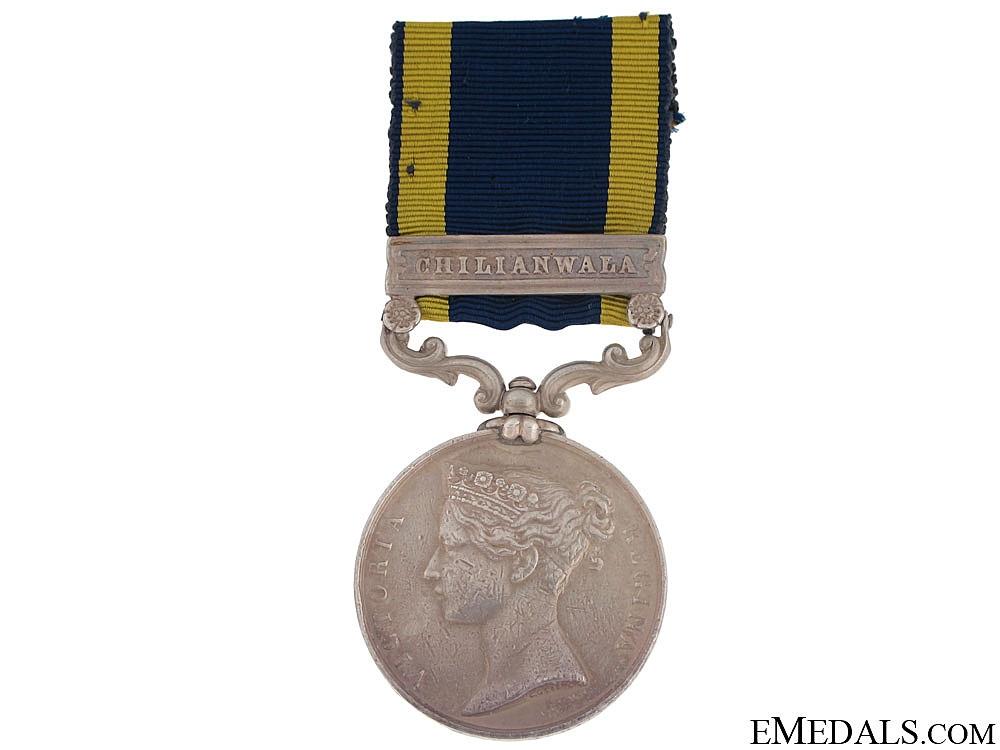 eMedals-Punjab Medal - 61st South Gloucestershire Regiment