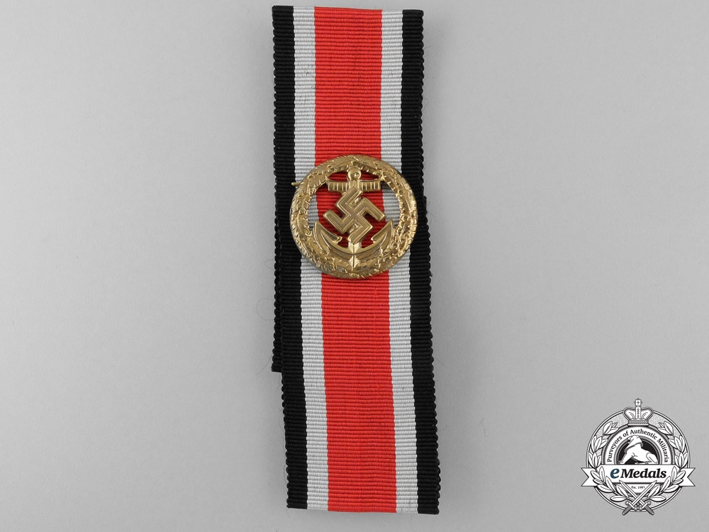 eMedals-A Second War German Kriegsmarine Honor Roll Clasp