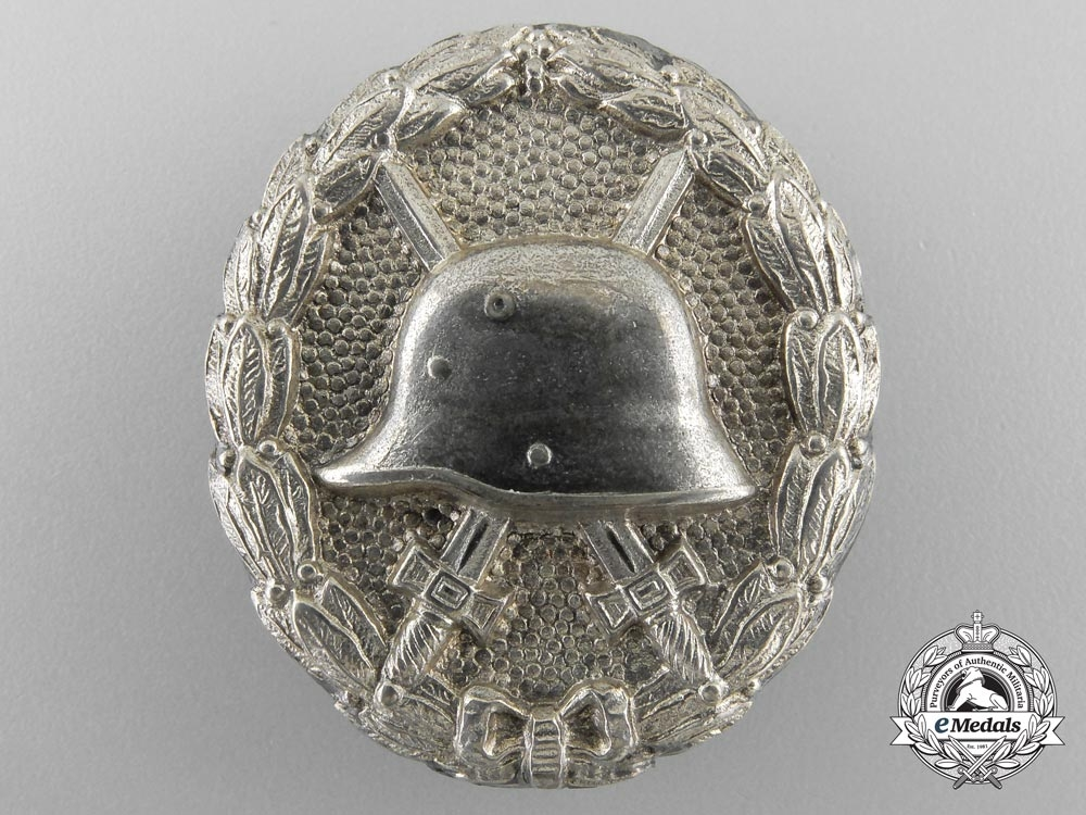 eMedals-Germany, Imperial. A Silver Grade Wound Badge