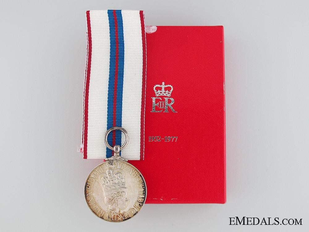 eMedals-Queen Elizabeth II Silver Jubilee Medal 1952-1977