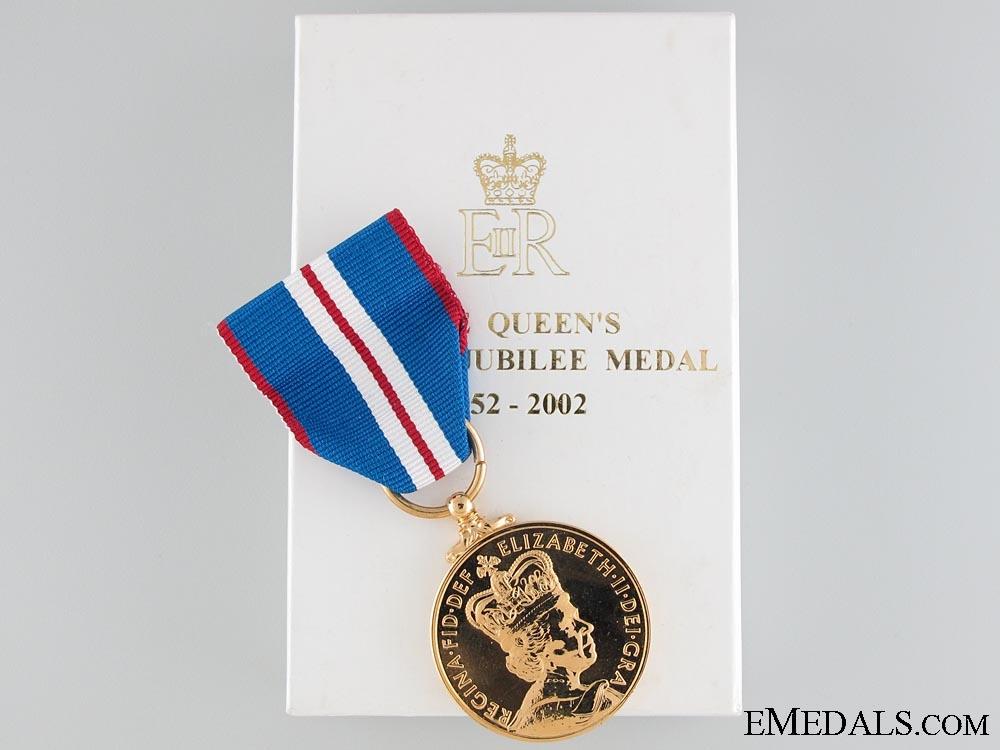 eMedals-Queen Elizabeth II's Golden Jubilee Medal 2002