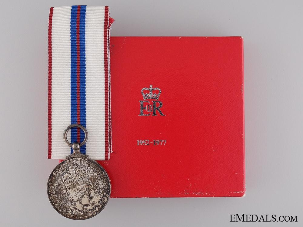 eMedals-Queen Elizabeth II Silver Jubilee Medal 1952-1977, Boxed