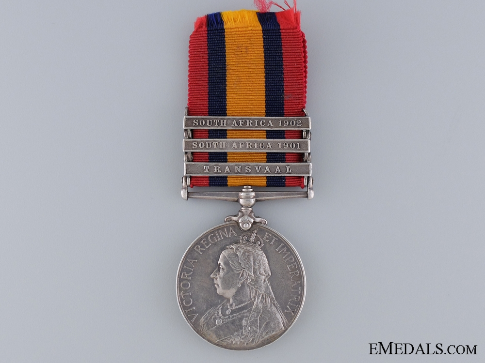 eMedals-Queen's South Africa Medal to the Manchester Regiment