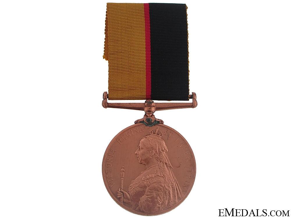 eMedals-Queen's Sudan Medal 1896-1897 - Bronze