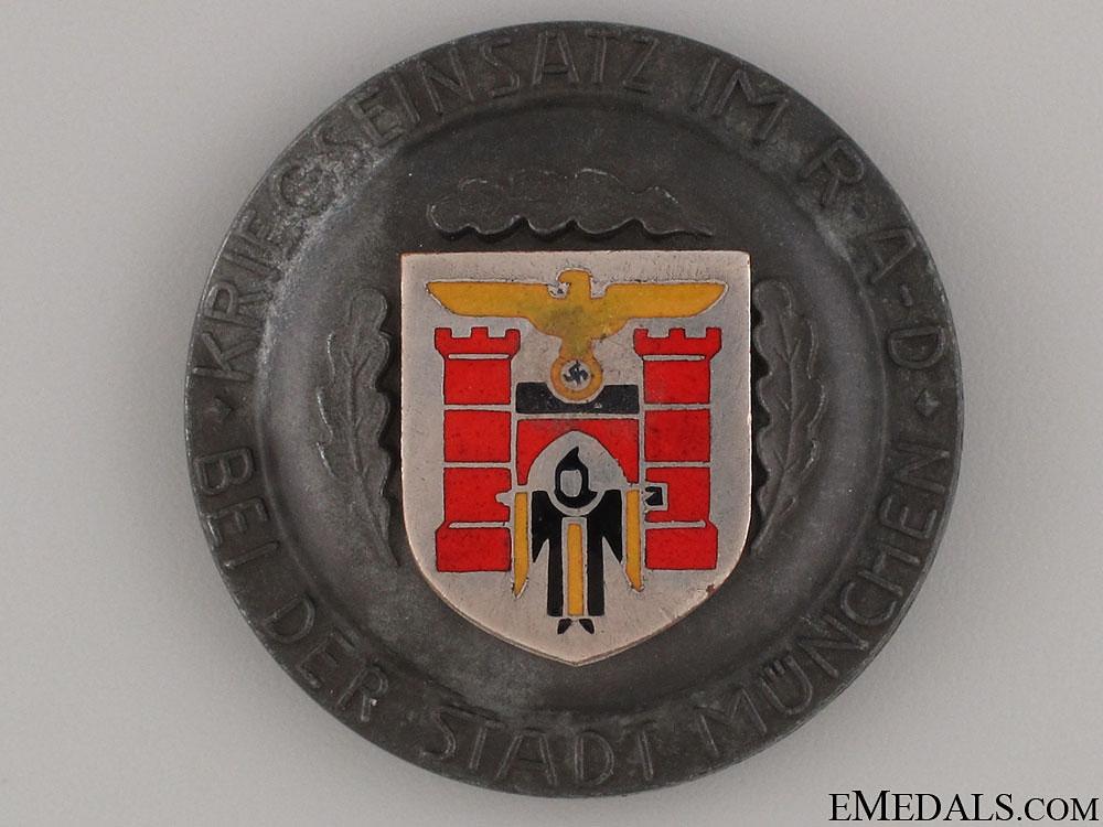 eMedals-R.A.D. Award for War Effort