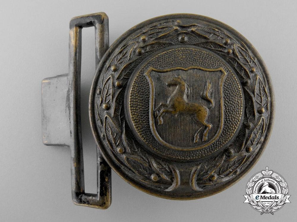eMedals-A Third Reich Westfalen Fire Defence Service Officer's Belt Buckle