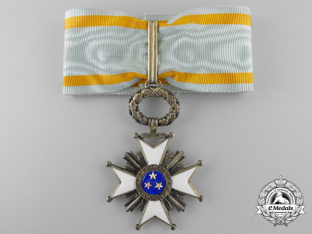 eMedals-A Latvian Order of the Three Stars; Second Class c.1925