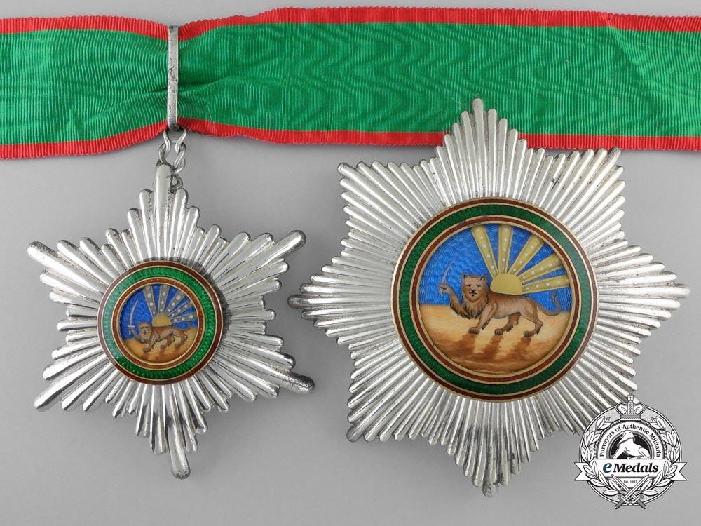 eMedals-An Iranian Order of Homayoun; 2nd Class Set