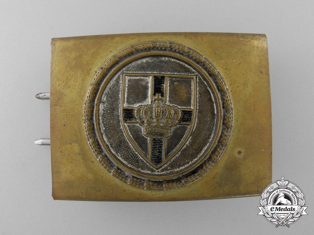 eMedals-A German Veteran's Scharnhorst League (Scharnhorstbund) Belt Buckle