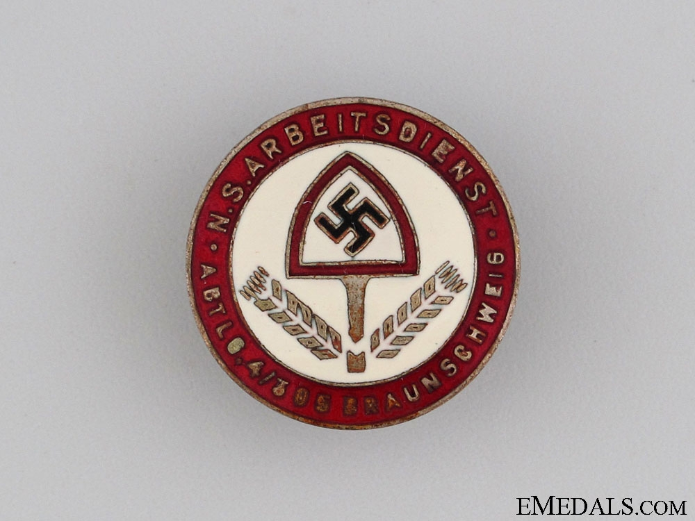 eMedals-RAD Abteilung 4/305 in Brunswick Staff Badge