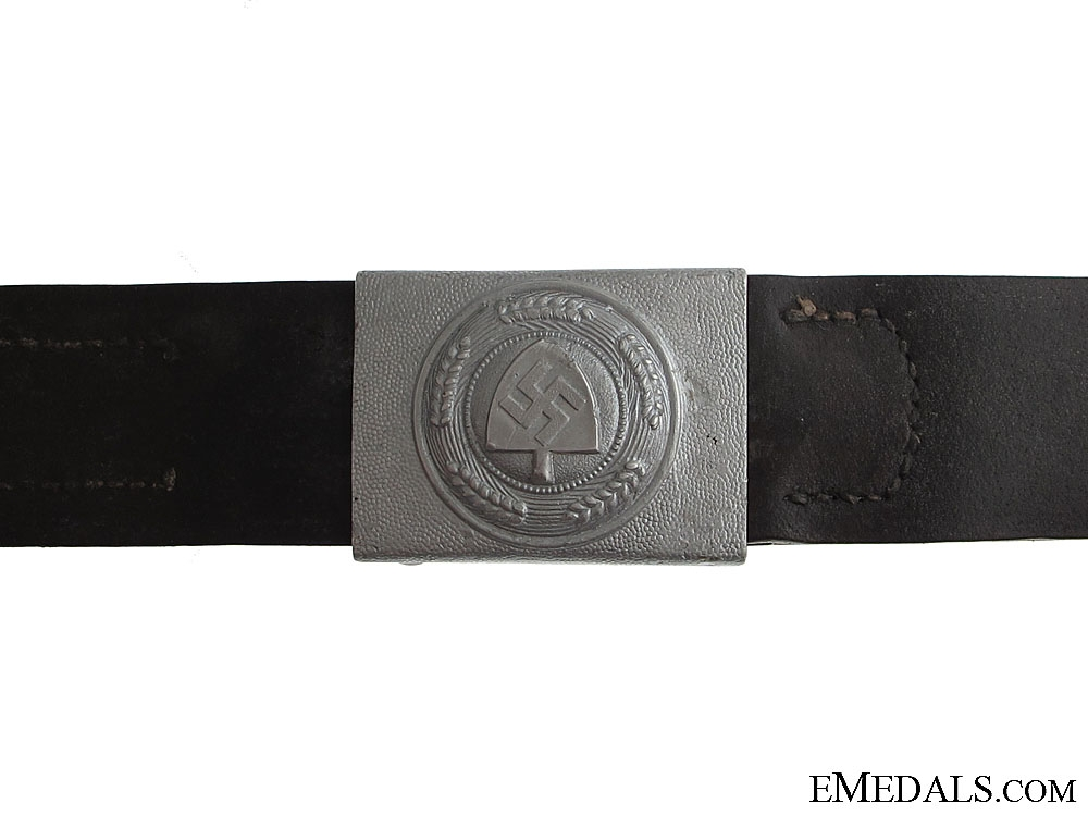 eMedals-RAD Enlisted Belt& Buckle