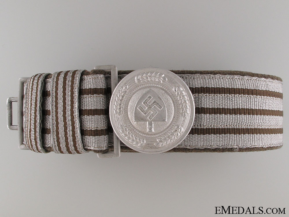 eMedals-RAD Officer's Brocade Belt and Buckle