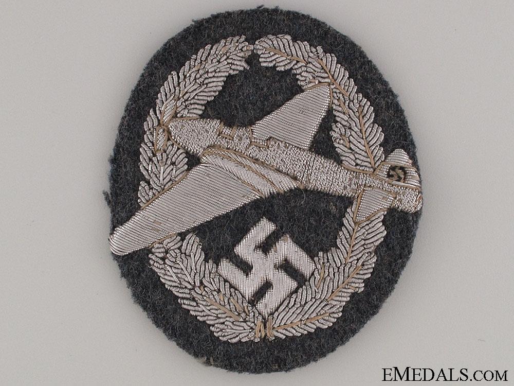 """eMedals-Rare 1st Type NFSK Motor Pilot""""¢¯s Bullion Badge"""