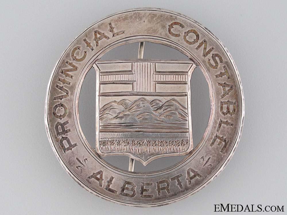 eMedals-Rare Alberta Provincial Constable Badge
